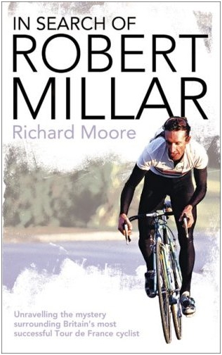 Book cover. In Search of Robert Millar